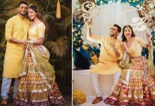 Photo of Pictures of Gauhar Khan's Pre Wedding Function are Becoming Viral, from Lehenga to Hair Style is Very Special
